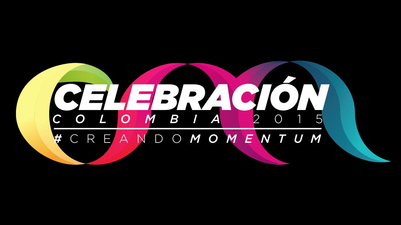 Celebracion Colombia 2015 Logo Header